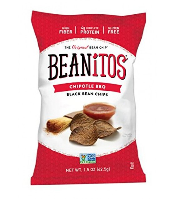 [Beanitos] Chips Black Bean, Chiptle BBQ