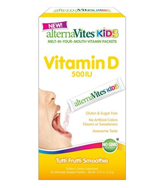 [Alternavites] VITAMIN D,KIDS,FRUIT,PKT