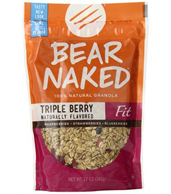 [Bear Naked] Granola Fit Triple Berry