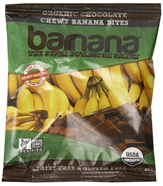 [Barnana]  Chocolate Chewy Banana Bites  At least 95% Organic