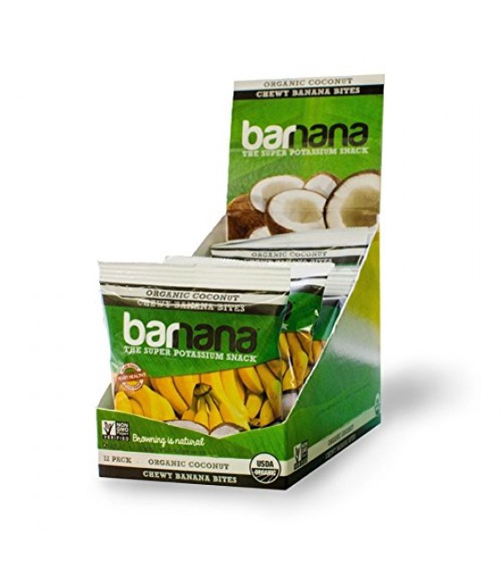 [Barnana]  Coconut Chewy Banana Bites  At least 95% Organic