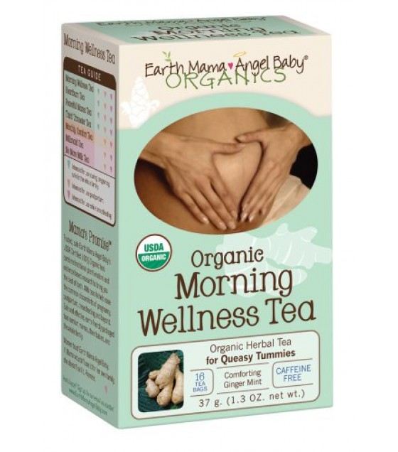 [Earth Mama Angel Baby] Pregnancy Products Morning Wellness Tea  100% Organic