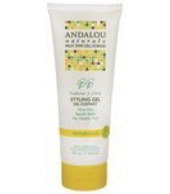[Andalou Naturals] Styling Products Gel, Sunflower Citrus Medium Hold