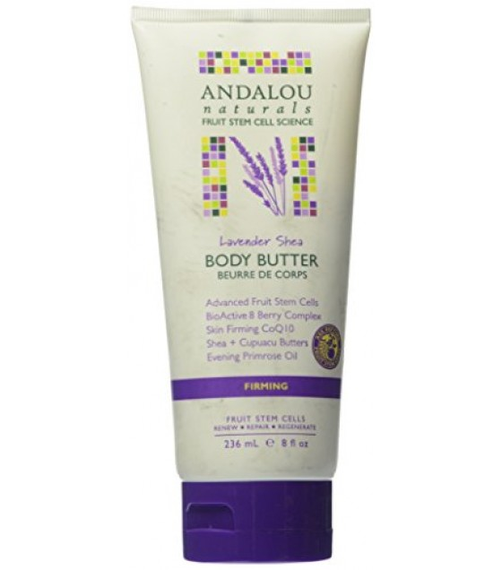 [Andalou Naturals] Body Butters Firming, Lavender Shea