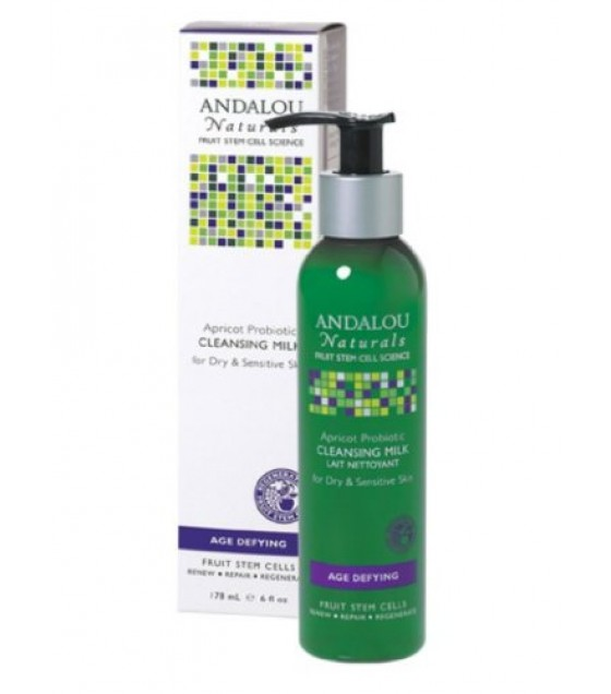 [Andalou Naturals] Facial Care Cleansing Milk, Apricot Probiotic