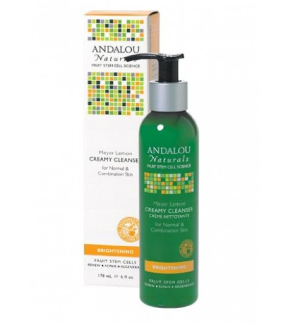 [Andalou Naturals] Facial Care Creamy Cleanser, Meyer Lemon