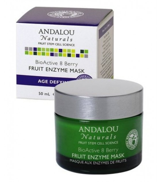 [Andalou Naturals] Facial Care Mask, BioAct 8 Berry Fruit Enzyme