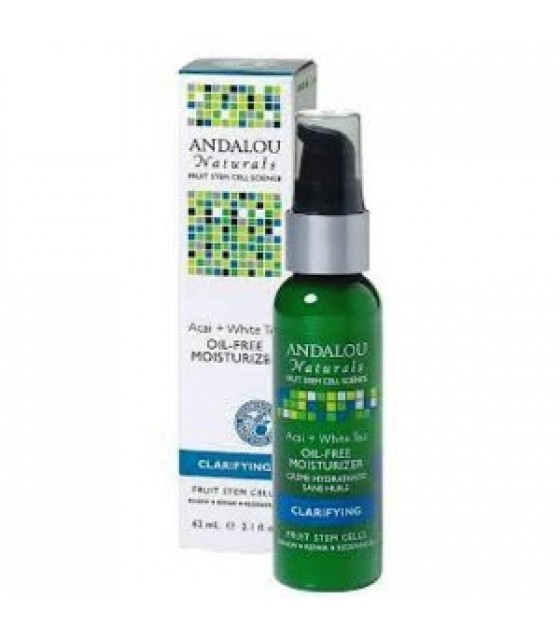 [Andalou Naturals] Facial Care Moistrizr Acai+Whte Tea N/Oil
