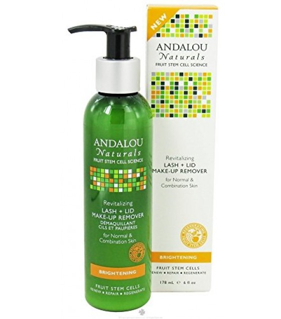[Andalou Naturals] Facial Care Rev Lash/Lid Make-up Remover