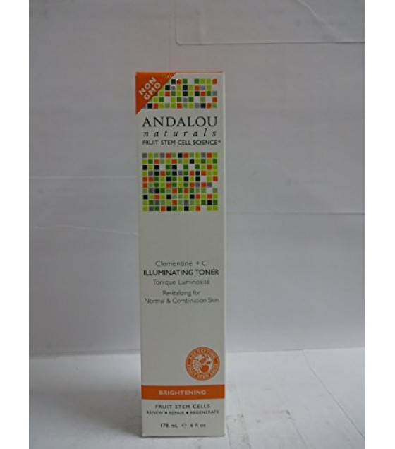 [Andalou Naturals] Facial Care Clementine +C Illuminating Toner
