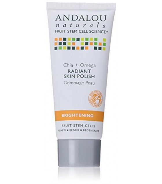 [Andalou Naturals] Facial Care Chia/Omega Radiant Skin Polish