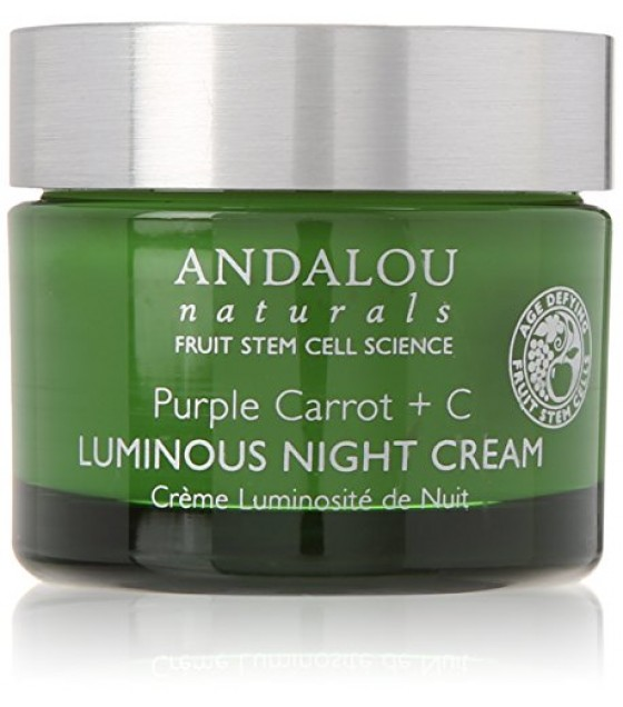 [Andalou Naturals] Facial Care Purple Carrot +C Lum Night Cream