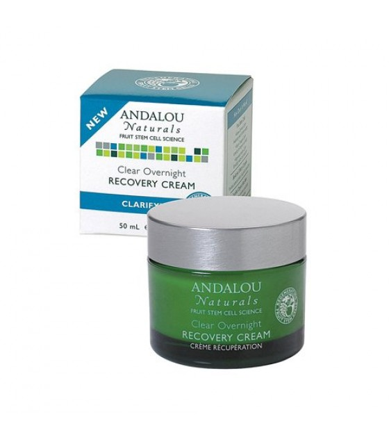 [Andalou Naturals] Facial Care Clear Overnight Recovery Cream