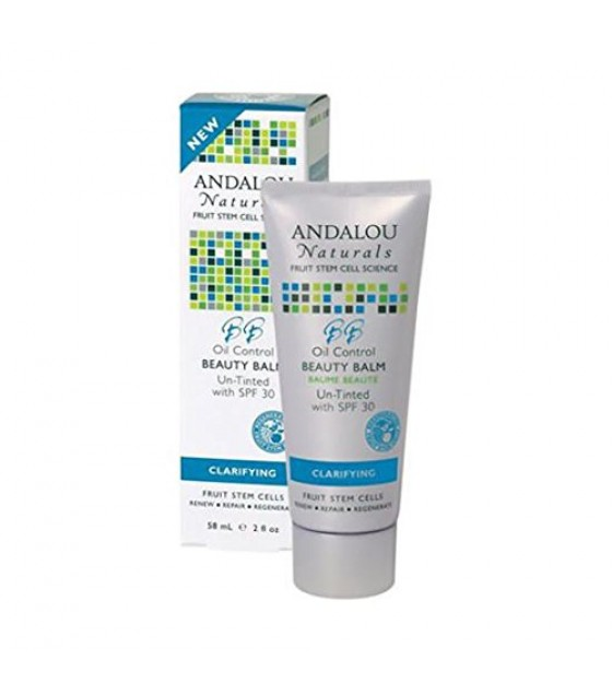 [Andalou Naturals] Facial Care Beauty Balm Untinted SPF 30