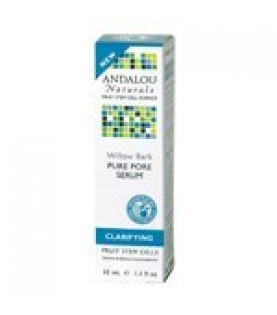 [Andalou Naturals] Facial Care Willow Bark Pure Pore Serum