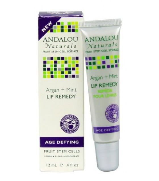 [Andalou Naturals] Lip Balms/Treatments Argan + Mint Lip Remedy