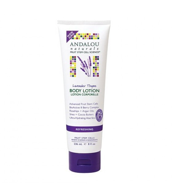 [Andalou Naturals] Lotions Refreshing Body, Lavender Thyme