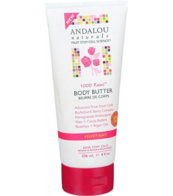 [Andalou Naturals] Body Butters 1000 Roses