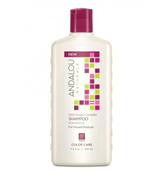 [andalou Naturals] Shamp,1k Roses,color Care