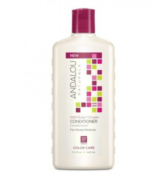 [andalou Naturals] Cond,1k Roses,color Care