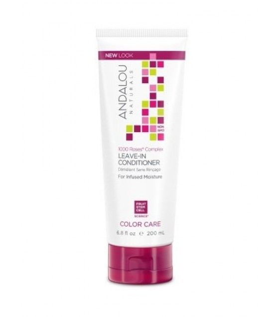 [andalou Naturals] Cond,1k Roses,leave In