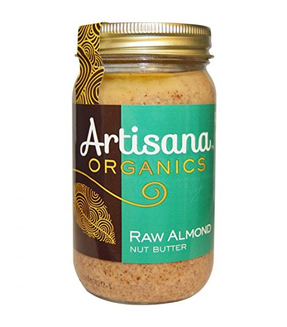 [Artisana] Nut Butters Almond, Raw  At least 95% Organic