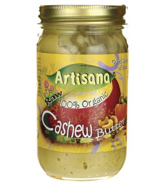 [Artisana] Nut Butters Raw Cashew  At least 95% Organic