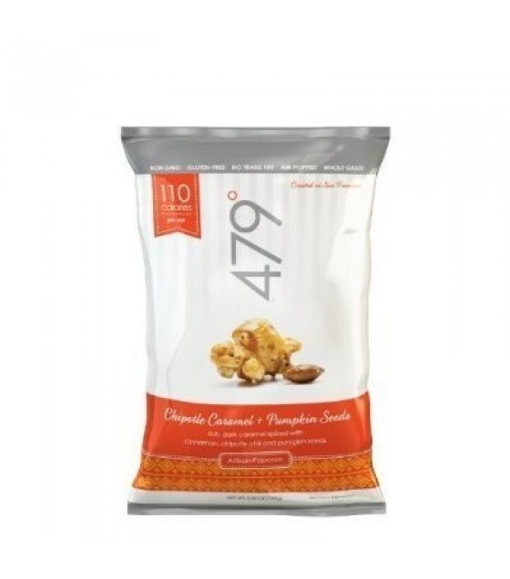 [479] Popcorn Large Pouch Chipotle Caramel + Pumpkin Seeds