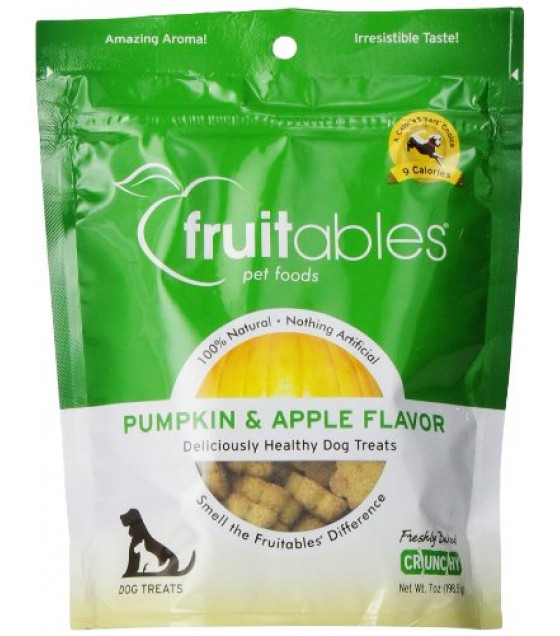 [Fruitables] Dog Treats Pumpkin & Apple Mix