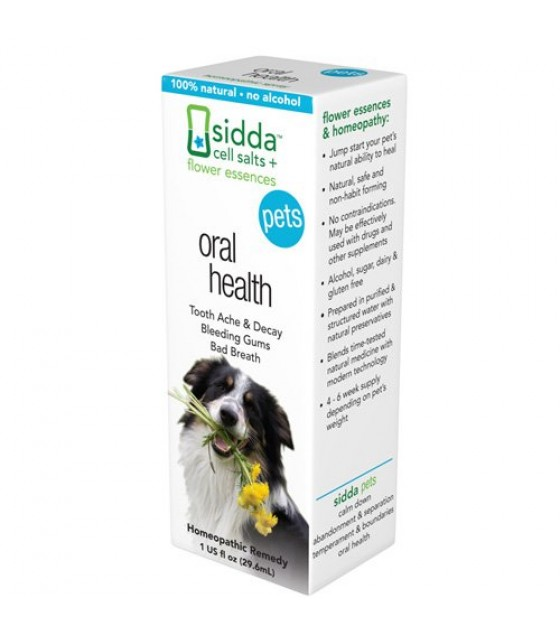 [sidda Flower Essences] Pet,oral Health