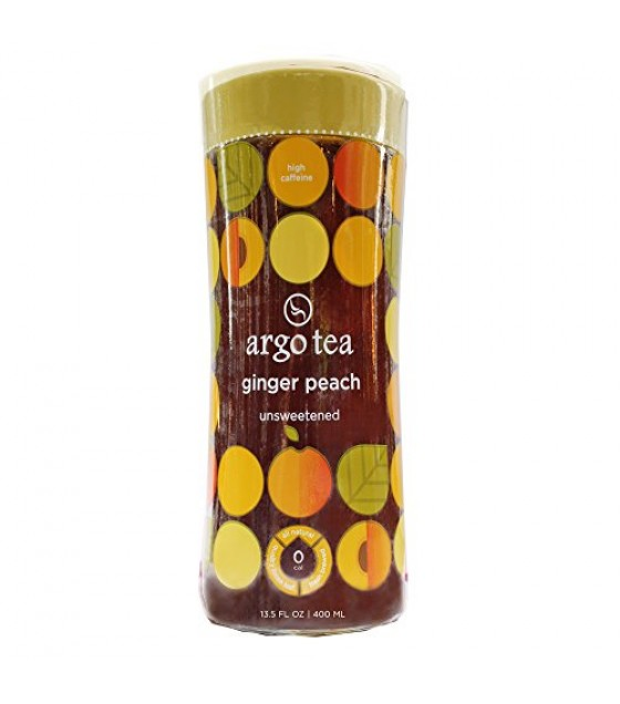 [Argo Tea] Ready To Drink, Unsweetened Ginger Peach