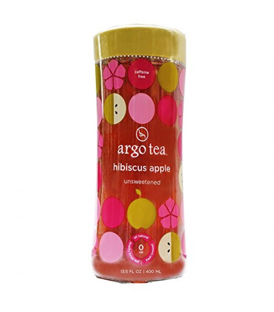 [Argo Tea] Ready To Drink, Unsweetened Hibiscus Apple