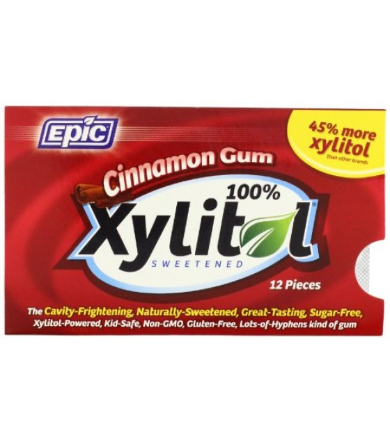 [Epic Dental] Chewing Gum, Blister Cards Cinnamon