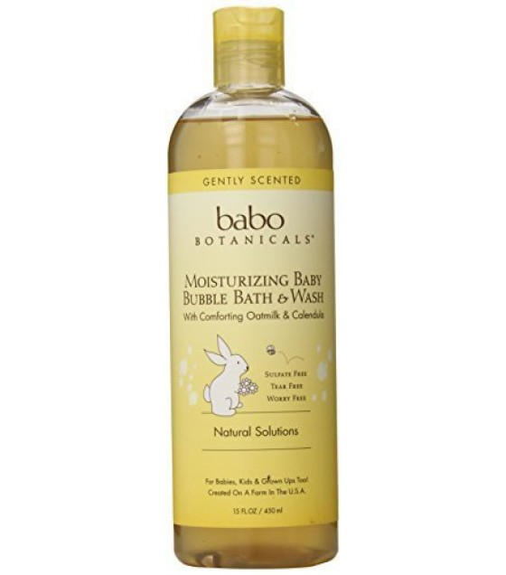 [Babo Botanicals]  Moisturizing Bbath/Wash Oatmilk